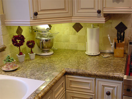 Bedrock creations your best resource for granite tile for Kitchen creations